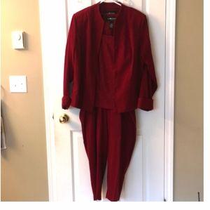 3 PCE SAG HARBOR Pant Suit 20W